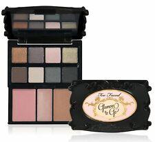 NIB Too Faced Glamour To Go 8 Eye Shadows, Blush, Bronzer & Lip Gloss! RARE!!!