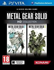 PS Vita Metal Gear Solid MetalGear HD Collection Game for Playstation PSV New