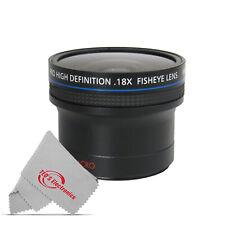 0.18x 180 Degree Ultra Fisheye Lens Set for Canon Nikon Panasonic Dslr Cameras