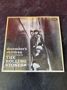 DECCA THE ROLLING STONES DECEMBER'S CHILDREN VINYLE VIOLET 1964 1965.