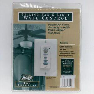 Hunter Original Ceiling Fan & Light Dimming Wall Control Kit Easy DIY 27189 NEW