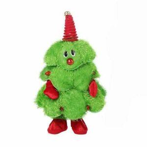 Plush Singing Dancing Christmas Decoration Toy Plays Christmas Tunes Boys Girls