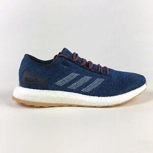 Adidas Pureboost Boost Legend Ink Blue Mens 10 Running Shoes Sneakers S81993