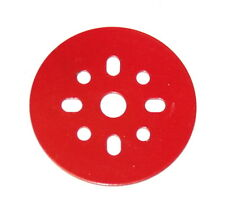 "Meccano Part 146b Circular Disk 2"" Red"