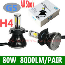 2018 80W 8000lm COB LED H4 HIGH LOW BULB CAR Led HeadLight  LED CONVERSION KIT