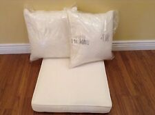 Frontgate Vintage Lounge sofa CHAIR replacement CUSHIONS 23x28 outdoor white
