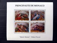 MONACO 2002 Four Season Art M/Sheet MS2582 U/M FP9651