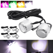 10x White Eagle Eye LED Daytime Running DRL Car Rock Strobe Lamp Backup Light