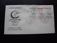 CHYPRE - enveloppe 1er jour 26/9/1966 (europa) (cy97) cyprus