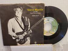 "STEVE MARTIN 7"" 45 RPM ""King Tut"" & ""Sally Goodin"" w/ pic sleeve VG+ condition"