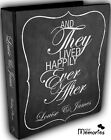 Wedding Planner Diary/Journal/Organiser - Happily ever after chalkboard