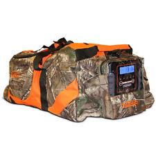 Scent Crusher RealTree Camo Odor Eliminating Hunting Gear Bag w/ Ozone Generator