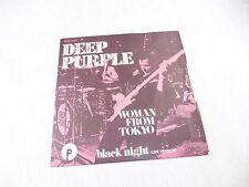 Vinyle 45 tours, Woman from Tokyo, black night, Deep purple, Pathe, 006-94185