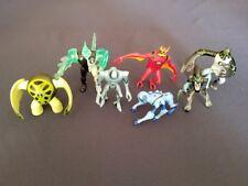 Ben 10: Battle Version Figures Lot Jetray Diamondhead XLR8 Upgrade Spider Monkey