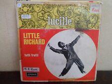 "7"" Little Richard – Lucille / Tutti Frutti - VG/EX - LONDON - 69.040 Y - FRANCE"