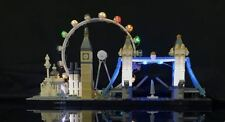New LED Light Kit for Lego 21034 Skyline Collection London usb powered bricklite