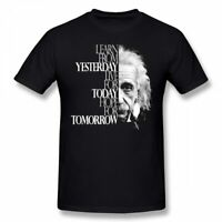 Einstein T Shirt Live For Today T-Shirt Awesome Printed Tee Shirt