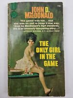 John D. MacDonald Only Girl in the Game 1960 Gold Medal PBO Paperback