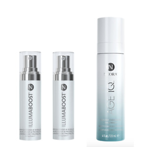 30% OFF NEORA Age-Defying Double Cleanser + IllumaBoost Serum Duo