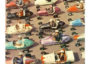 1958 QUARTER MIDGET GO KART AUTO RACING MINI-INDY 500 5X7 PHOTO YOUNG KID RACERS