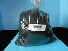 BLACK NYLON FLOCKING (16 OUNCE BAG) 100%  MADE IN U.S.A. GEESE,DUCK,CROWS,DECOY