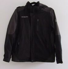 zeroXposur Men's Black Winter Hooded Windbreaker Coat Jacket Sz S