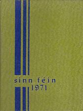 Woodway High School Yearbook 1971 Edmonds, WA  (Sinn Fein)