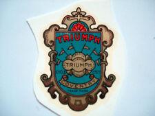 TRIUMPH IMAGE inscription décalcomanie à eau Décalque