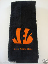 Personalized Embroidered Golf Bowling Workout Towel Cincinnati Bengals