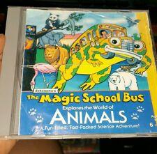 The Magic School Bus - Animals PC GAME - FREE POST