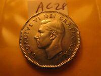 Canada 1948 High Grade 5 Cent Rare Coin ID#AC28.