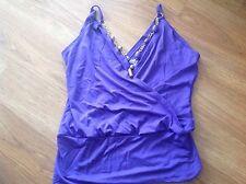 Womens Top Purple Shirt   size 12 Ladies
