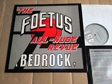 "THE FOETUS ALL-NUDE REVUE - BEDROCK - 5-TRACK-12""-VINYL - UK 1987 - OIS"