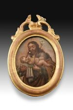 Framed Miniature, Wood, 18th Century 'Later Framing'