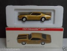 High Speed Reader's Digest Gold and Black GM Oldsmobile 442 Diecast Car in Box