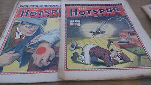 2 HOTSPUR COMICS, 1942/43