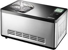 UNOLD 48845 Edelstahl Eismaschine Gusto 2,0 Liter Eiscreme - NEU