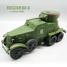 RUSSIAN BA-6 1/43 DIECAST MODEL TANK DEA