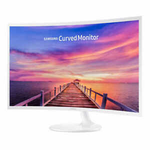 Samsung 27 inch Curved Widescreen LED 1920x1080 HDMI VGA Monitor- LC27F391FHNXZA