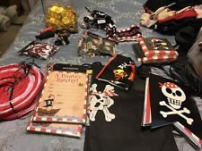 Lot of Pirate Party Supplies.