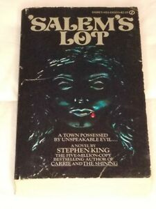 Salem's Lot Stephen King Paperback First Signet Printing August, 1976