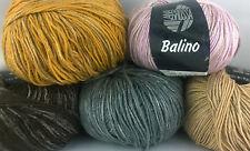 100g=5,40€, Lana Grossa, Balino, 50g=~115m, 40% Baumwolle, 30% Leinen, Sommer