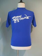 Body Glove Royal Blue Ss Rash Guard Shirt Size: Small Excellent Condition