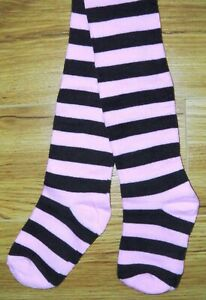 BNWOT GIRLS NEXT TIGHTS 2-3 YRS NEW PINK BROWN STRIPE TOP COAT WINTER PARTY JKT