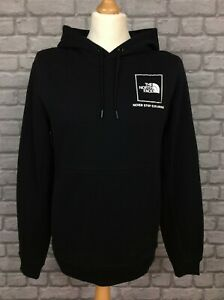 THE NORTH FACE MENS BLACK FINE BOX NEVER STOP EXPLORING HOODIE RRP £65 AD