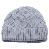 Women Men Unisex Beanie Knit Ski Cap Hip-Hop Solid Color Winter Warm Hat S