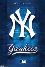 #Z142 NY Yankees Logo Poster 24x36