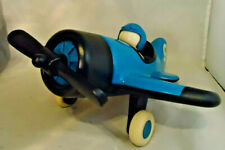"PLAYFOREVER TOYS AIRPLANE BLUE IN COLOR 10 1/2"" WINGSPAN"