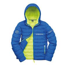 Volvo Branded Urban Snowbird Men's Hooded Jacket Blue/Lime