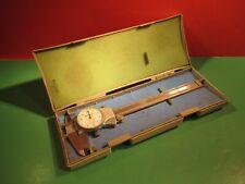Vintage Mitutoyo No 505 637 50 Dual 6 Caliper 0001 Grad Orig Case
